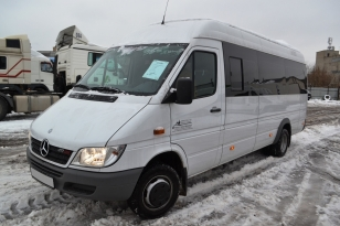 Микроавтобус MERCEDES BENZ 411 CDI Sprinter. Год выпуска декабрь 2015.