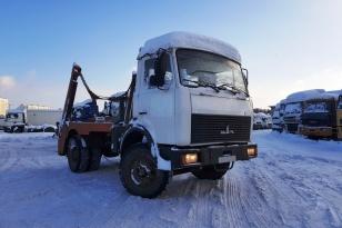 Мусоровоз портальный МКС-3501 на шасси МАЗ 5551АZ. Год выпуска 2012.