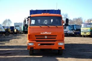 Бортовой грузовой КамАЗ 65117 N3 кран-манипулятор Palfinger РК 15500