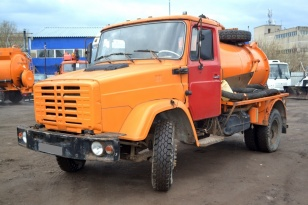 Грузовик ЗИЛ 53 илососная машина КО-510. Год выпуска 2003.