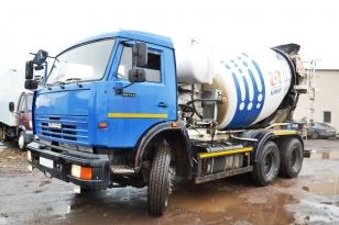 Автобетоносмеситель  КАМАЗ 65115-D3. 2013 года выпуска.