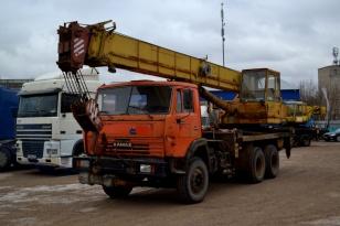 Автокран КС-45717К-1 Ивановец на шасси Камаз-53229
