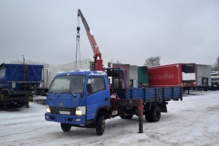 Манипулятор BAW Fenix грузовик бортовой с краново-манипуляторной установкой Unic 330 V-Turbo