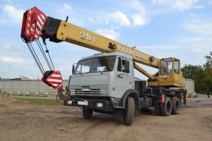 Автокран Галичанин КС-55713-1 на базе шасси КамАЗ- 53215О