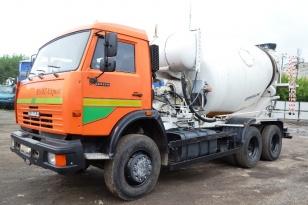 Автобетоносмеситель 69361Н на шасси КАМАЗ-65115. Год выпуска: 2014.