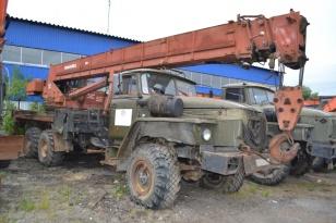 Автокран КС-45717-1 «Ивановец» на шасси Урал 4320. Год выпуска 2000.