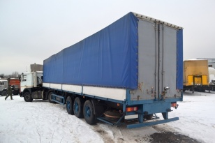 Седельный тягач Маз 5440. Год выпуска 2013.