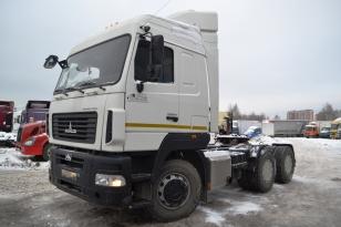 Седельный тягач МАЗ 643019-1420-010. Год выпуска 2014.